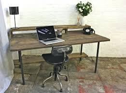 industrial style office desk. Industrial Style Desk Image Of Reclaimed Office Desks Uk