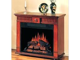 cherry electric fireplace grand 62 scroll