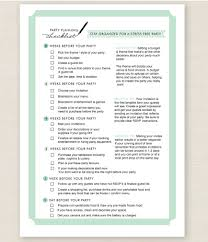 Get Everything Done On Time With These 7 Printable Party Planners Sp