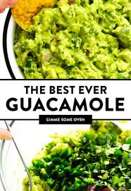 the best guacamole recipe gimme some