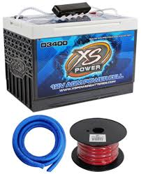 xs power d3400 3300 amp car audio battery terminal hardware power xs power d3400 3300 amp car audio battery terminal hardware power ground wires