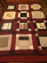 Memory lap quilt made from a loved ones clothing & Like this item? Adamdwight.com