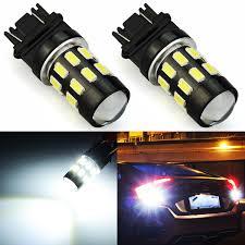 3156 Led Backup Light Bulbs Details About Jdm Astar 2x White Reverse Backup Lights 3156 3157 24 Smd High Power Led Bulbs