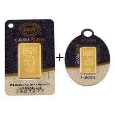 3.5 gr 24 Ayar Gram Külçe Altın Fiyatları