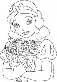Printable Disney Princess Snow White Coloring Pages Printable
