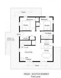 7 creative small 3 bedroom home plan