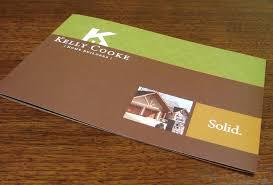 Kelly Cooke Home Builder Brochure Graphic Design Granite