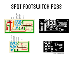 3pdt guitar pedal footswitch wiring pcb schematics google search