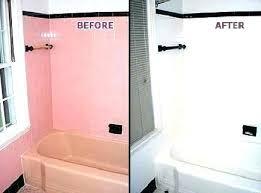 reglaze bathtub cost bathtub bathtub and refinishing