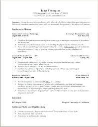 Resume Lpn Resume Cover Letter New Grad Nurse Example For Nursing