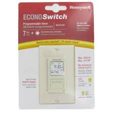 Honeywell Programmable Light Switch Timers Automatic Lights and
