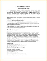 Generic Recommendation Letter Sample Letter Sample Scholarship Recommendation Letter Scholarship 18
