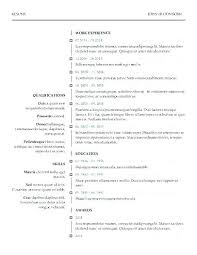 Resume Modern Temp Contemporary Resume Templates Carvis Co