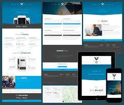Free Templates 17 Free Amazing Responsive Business Website Templates