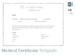 New Medical Certificates Certificate Templates Dr