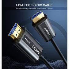 Cáp HDMI 2.0 Cao Cấp Sợi Quang UGreen HD132 - Support 4K 60Hz Với Chiều Dài  Lên Đến 100M giảm tiếp 2,700,000đ
