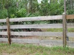 wooden farm fence. Brilliant Wood Farm Fence Custom Fences Fencing South Florida Construction Wooden