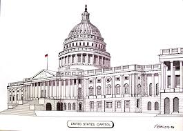 famous architectural buildings black and white. 28+ Collection Of Washington Capitol Building Drawing | High Quality, Free Cliparts, Drawings And Coloring Pages For Teachers, Students Everyone - Famous Architectural Buildings Black White F