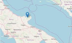 Terremoto oggi Foggia M 3.6/ Ingv ultime scosse, tremano il ...