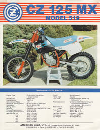 Old Brochures Found Some Old Brochures Heres A Cz Model 519 Old School Moto