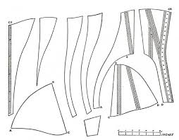 Corset Pattern Free Simple 48 Images Of Victorian Corset Template Leseriail