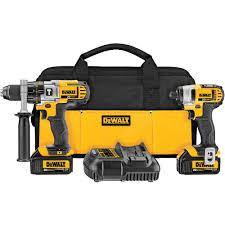 dewalt 20v compact drill. dewalt 20-volt max lithium-ion cordless hammer drill/impact driver combo kit dewalt 20v compact drill d