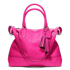 Coach Legacy Leather Rory Satchel in Purple - Lyst