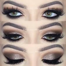 dramatic brown smokey eye makeup tutorial