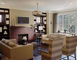 traditional family room by dunlap design group llc