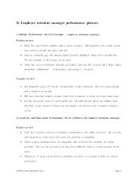 Employee Review Sample Classy Job Performance Evaluation Goals For Work Review Examples Employee