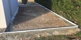 Realiser Une Terrasse En Beton