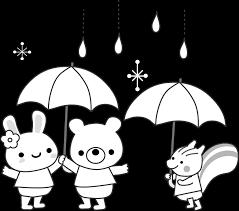 梅雨の無料イラスト