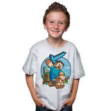 Best Youth Minecraft T Shirts Photos 2017 \u2013 Blue Maize