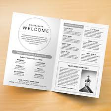 Church Program Template Church Bulletins Bulletin Printing Template Concordia Supply