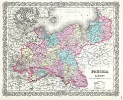 file colton map of prussia and saxony germany  geographicus