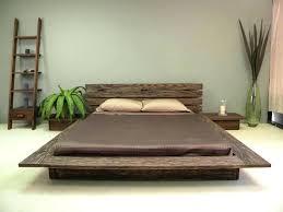 Low Bed Frames Queen Delta Bedroom Set Within Low Platform Bed ...