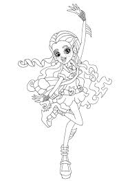 Small Picture Free Printable Monster High Coloring Pages Lagoona Blue Ghouls