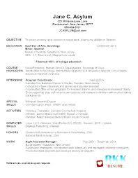 Grad School Resume Template Resume For Graduate School Template