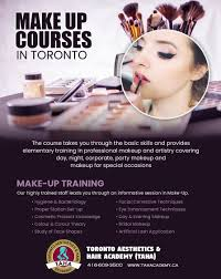 if you are looking for make up courses in toronto ontario then toronto aesthetics hair academy taha today where students will be exposed to make up