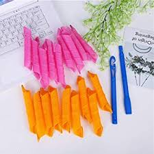 <b>18 Pcs</b> DIY Magic Circle <b>Hair</b> Styling <b>Rollers Curlers</b> (30cm x 2.5cm ...