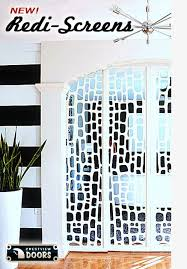 breaking news crestview doors introduces 6 decorative midcentury style wall screens room readymade partition walls