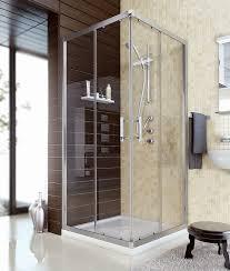 Un Baño A Tu Medida  Leroy MerlinComo Instalar Una Mampara De Ducha Cuadrada