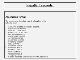 Medical Records Role And Its Maintenance