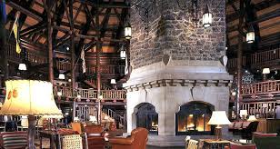 walk in fireplace lobby had huge mean could actually around73 fireplace