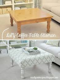 cottage chic furniture. Delighful Furniture DIY Shabby Chic Ottoman In Cottage Furniture