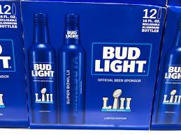 12 Pack Bud Light Bottles Super Bowl Bud Light Super Bowl Lii Bud Light Cans Pack