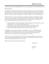 Cover Letter Designer Cover Letter Template For Graphic Designer