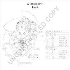 M110r2601se front dim drawing