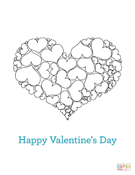 Valentine's Day Cards Coloring Pages | Free Coloring Pages