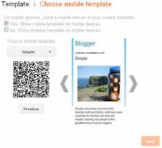 Blogger Mobile Template How To Edit Blogger Mobile Template